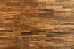 Wood texture - american walnut parquet floor Royalty Free Stock Image