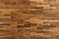 Wood texture - american walnut parquet floor Royalty Free Stock Image