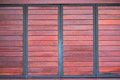 Wood texture bacground. Red wood texture and panel background Royalty Free Stock Photos