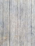 Wood texture background, closeup of table outdoors. Vertical planks. Surface has two sections. royalty free stock image