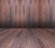 Wood texture background. Dark color in brown Stock Image