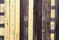 Wood texture background with nails Stock Images