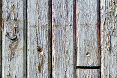 Wood Texture Background. Old painted wooden planks with cracked paint Stock Image