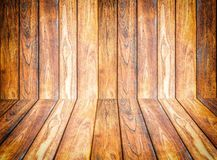 Wood texture. background old panels.  Stock Photography