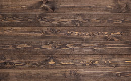 Wood texture. background old panels. close up of wall made of wooden planks. Stock Photography