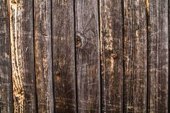 Wood texture. background old panels. Orange-brown boards Stock Photo