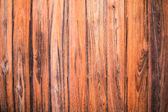 Wood texture background old panels. Wooden wall panels placed close together Royalty Free Stock Image