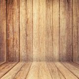 Wood texture background. old wood wall and floor perspective for Royalty Free Stock Photos