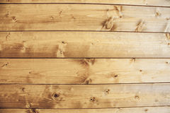 Wood texture background, old wooden panels close up. Grunge retro vintage textured image. Horizontal stripes Royalty Free Stock Images