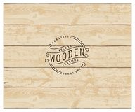 Wood texture. Background of realistic wooden planks. Tricolor, simple, usable design. The color of whitened wood Royalty Free Stock Photos