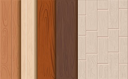 Wood texture  background. Set texture of a tree. Cartoon background for game elements isolated. Stock Photography