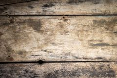 Wood texture background. Weathered vintage plank Royalty Free Stock Photos