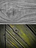 Wood texture background. Wood texture. Lining boards wall. Wooden background. set. pattern. Showing growth rings Royalty Free Stock Photography