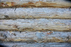Wood Texture Background, Wooden Board Grains, Old Floor Striped Planks. A background texture of a log cabin wall. Wood plank grain texture, wooden board striped Stock Photography