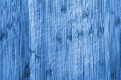 Wood texture in blue shade Royalty Free Stock Image