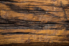 Wood texture. Brown wood texture, whit black marks Royalty Free Stock Photo