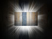 Wood texture of business card 3d presentation Royalty Free Stock Photo