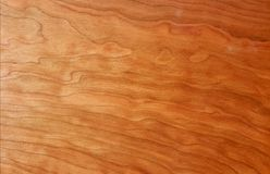 Wood texture. Cherry tree wood texture Stock Images