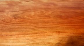 Wood texture. Cherry tree wood texture Stock Photos