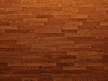 Wood texture consisting of shiny brown pieces, background. Wood texture, background. Wooden floor, parquet, consisting of rectangular wooden horizontal pieces vector illustration