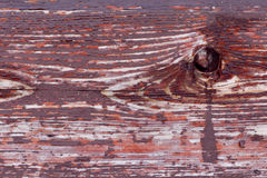 Wood texture covered with brown paint Stock Photography