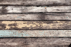 Wood Texture with Cracked Pastel Color Royalty Free Stock Photography