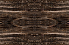 Wood texture dark brown color background Stock Photo