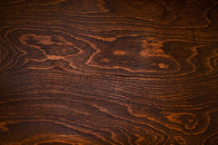 Wood texture of dark brown Royalty Free Stock Photos