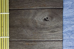 Wood texture denim ,background old panels Stock Image
