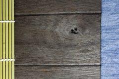 Wood texture denim ,background old panels Stock Image