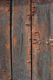 Wood texture with elements of destruction Stock Photos
