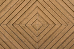 Wood texture. Geometric wood texture door planks Stock Image