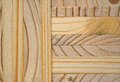 Wood texture. Glued wood as a background image Stock Images