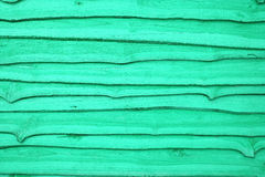 Wood texture green color Stock Photography