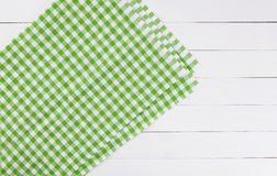 Wood texture and green textile background texture Royalty Free Stock Images