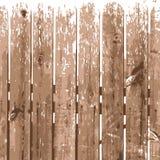 Wood texture illustration background. Natural beige wooden fence background. Stock Image