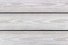 Light colored wooden planks with wood texture. Wood texture on light colored horizontal wooden planks Stock Photography