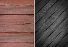 Wood texture. Lining boards wall. set. Wooden background. pattern. Showing growth rings stock photography