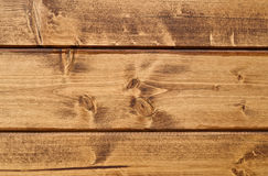 Wood texture. Lining boards wall. Wooden background. pattern. Showing growth rings Stock Image