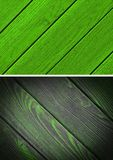 Wood texture. Lining boards wall. Wooden background. pattern. Showing growth rings. set stock photos