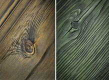 Wood texture. Lining boards wall. Wooden background. pattern. Showing growth rings. set royalty free stock photo