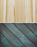 Wood texture. Lining boards wall. Wooden background. pattern Showing growth rings stock photos