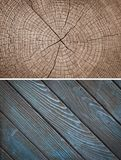 Wood texture. Lining boards wall. Wooden background. pattern Showing growth rings royalty free stock image