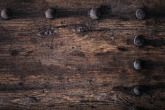 Wood texture / Natural Dark Wooden Background Stock Photography