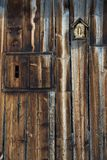 Wood texture with natural patterns Royalty Free Stock Images