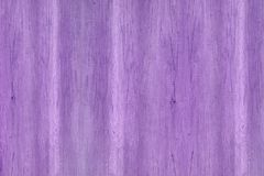 Wood texture with natural patterns, purple wooden texture. Stock Images