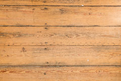 Wood texture, Natural wooden board with leaves and sawdust Royalty Free Stock Photography