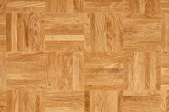 Wood texture - oak parquet floor Royalty Free Stock Photography