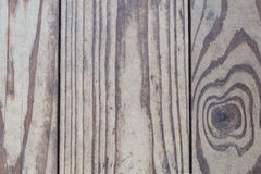Wood texture, old natural boards without additional processing, are located vertically, the wood is damaged Royalty Free Stock Images