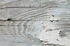 Wood texture with old paint, background stock photo